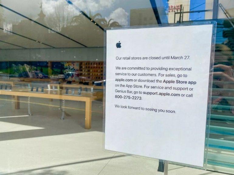 """Apple pourrait rouvrir de """"nombreux"""" Apple Store en mai"""