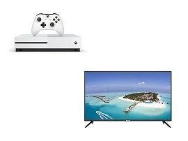 Bon plan : le pack Xbox One S + TV Brandt (100 cm) à 299€ au lieu de 597 chez la fnac