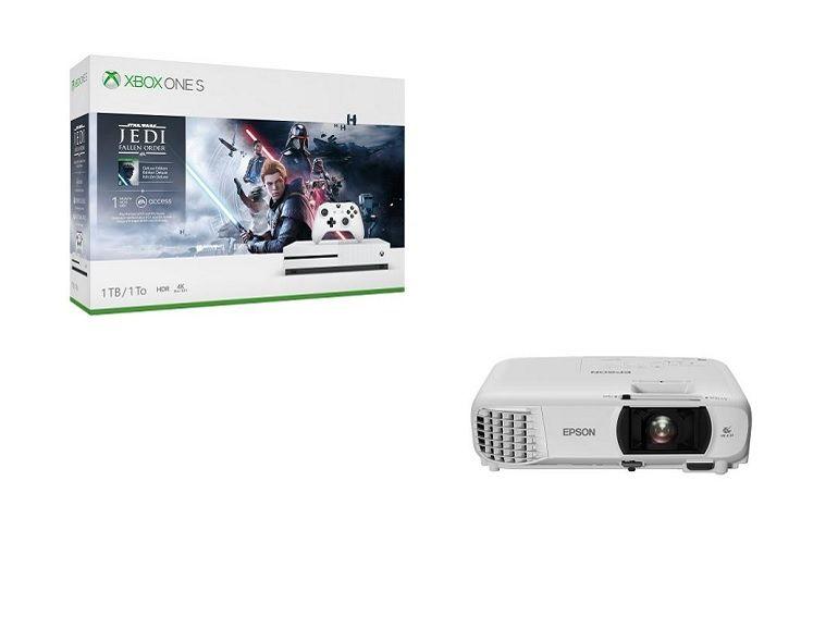 Bon plan : le pack vidéoprojecteur Epson + Xbox One S + Star Wars Jedi : Fallen Order à 599€ au lieu de 799