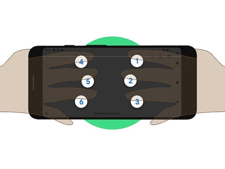 Google annonce un nouveau clavier virtuel en braille pour les smartphones Android