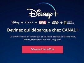 Disney+ : déjà un bon plan chez Canal+, de belles promos et 50 euros offerts avec l'abonnement