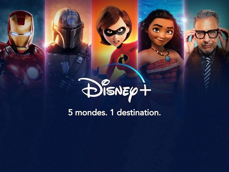 Disney + : 50 millions d'abonnés dans le monde, 2 millions de téléchargements en France