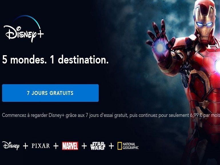 Disney+ France : J+3 depuis la sortie, comment regarder sur votre smartphone, TV ou ordinateur
