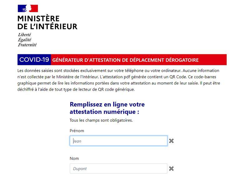 L Attestation De Sortie Obligatoire Pour Se Deplacer Au Dela De 100 Km Est Disponible Cnet France