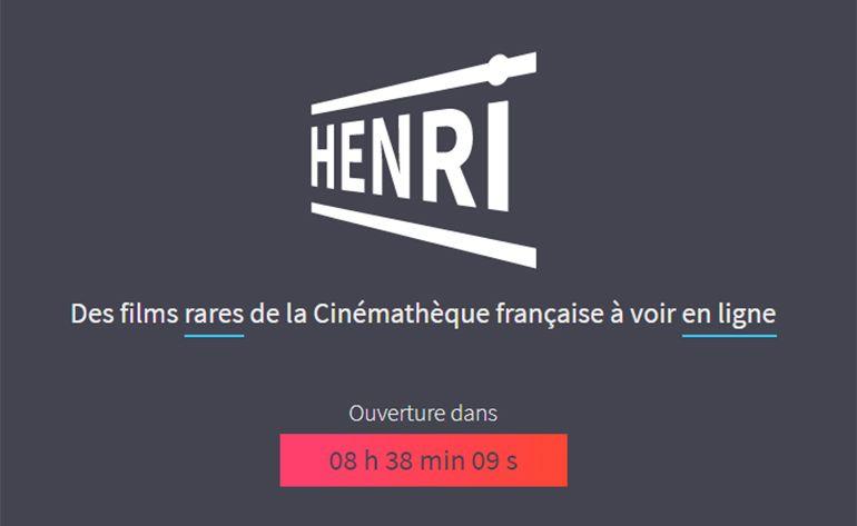 La Cinémathèque lance Henri, son service de streaming pour s'adapter au confinement