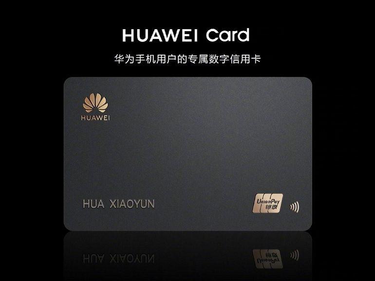 Huawei Card : la firme chinoise lance une carte bancaire physique et virtuelle, comme Apple