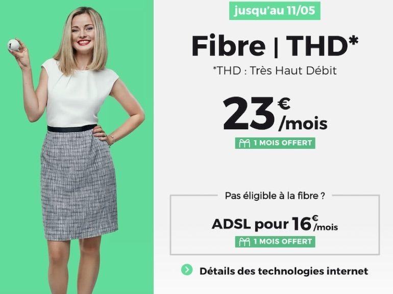 Forfait Internet : pourquoi l'offre fibre RED by SFR à 23€ est toujours la meilleure actuellement