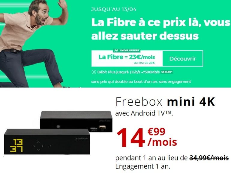 Bon plan fibre : faut-il craquer pour la RED Box de SFR ou la Freebox mini 4K de Free ?