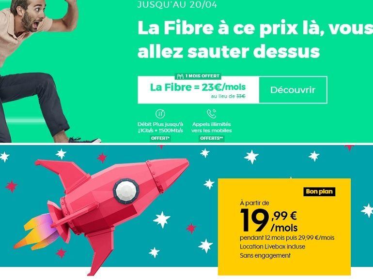 Fibre RED vs fibre Sosh : quel est le meilleur bon plan internet sans engagement de la semaine ?
