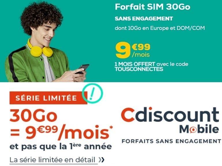 Promo forfait mobile : quelle est la meilleure offre à 10 euros cette semaine ?