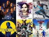 Netflix, Prime Video, OCS, Disney+, ADN : les meilleures séries de super-héros d'après la rédaction