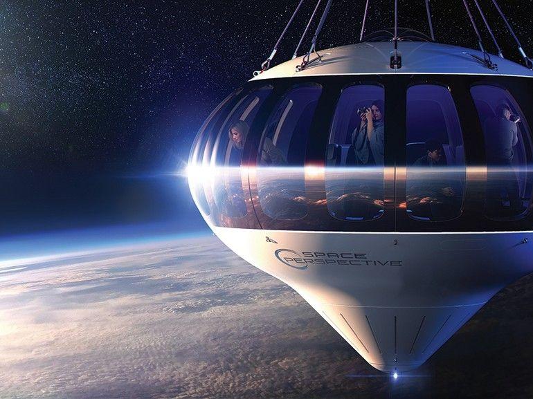 """Bientôt des voyages dans la stratosphère en """"montgolfière"""" ?"""