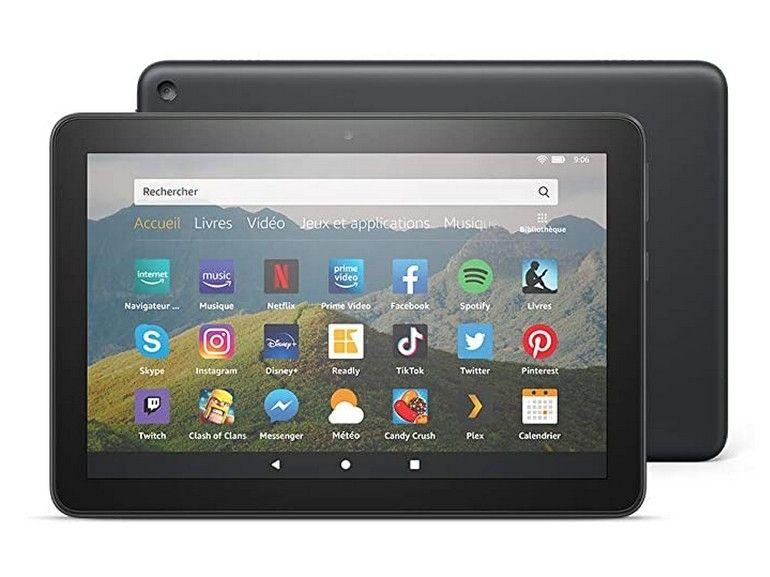 Nouvelle tablette Amazon Fire HD 8 (2020) : USB-C, un processeur plus véloce et une meilleure autonomie pour moins de 100€