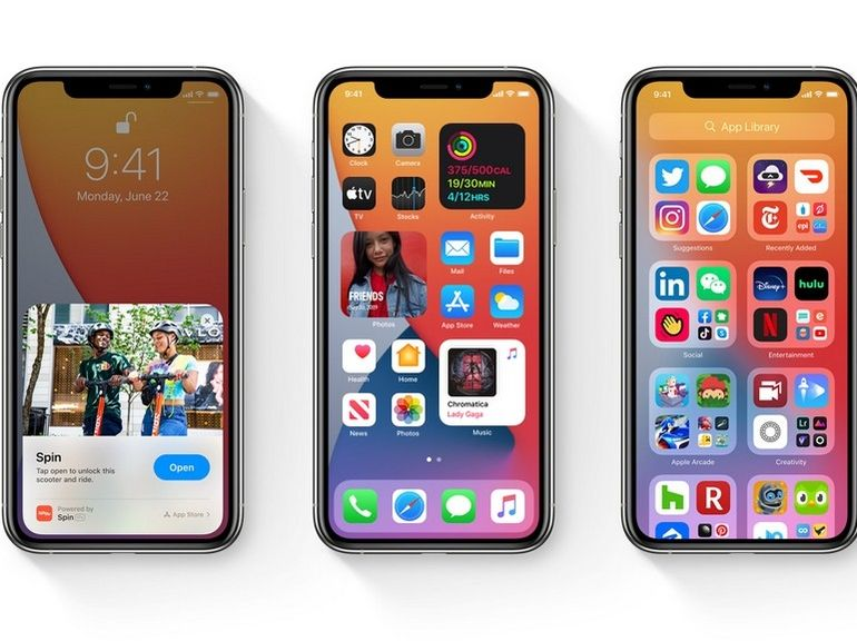 Sur iOS 14, tapoter le dos de l'iPhone lance des actions