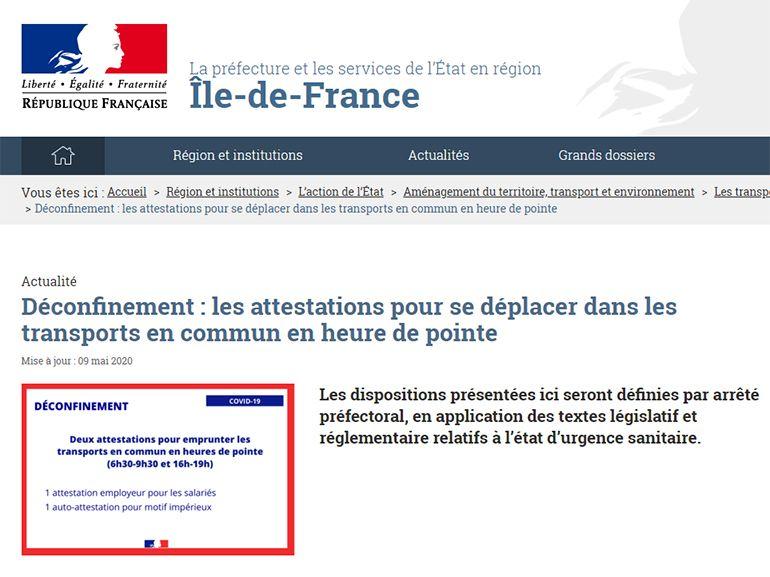 Attestation De Sortie Obligatoire Pendant Le Deconfinement Tout Ce Qu Il Faut Savoir Cnet France