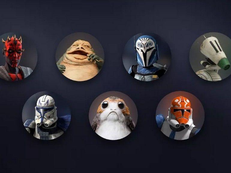 Star Wars Day : Disney+ s'enrichit de nouvelles icônes de profil Star Wars