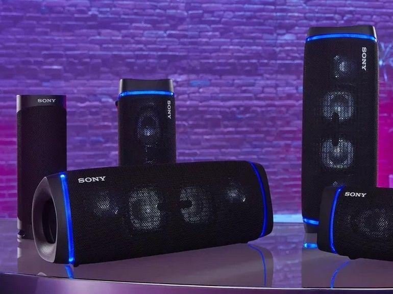 Sony renouvelle sa gamme d'enceintes Bluetooth portables