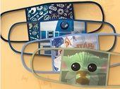 Disney commercialise des masques de protection Star Wars, Marvel et Pixar