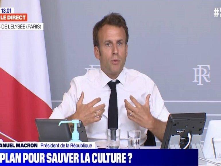 Culture : Emmanuel Macron ébauche son plan pour aider le cinéma et les séries