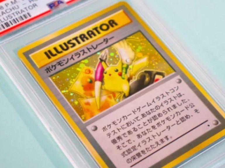 Cette carte Pokémon collector vendue 230 000 dollars, nouveau record