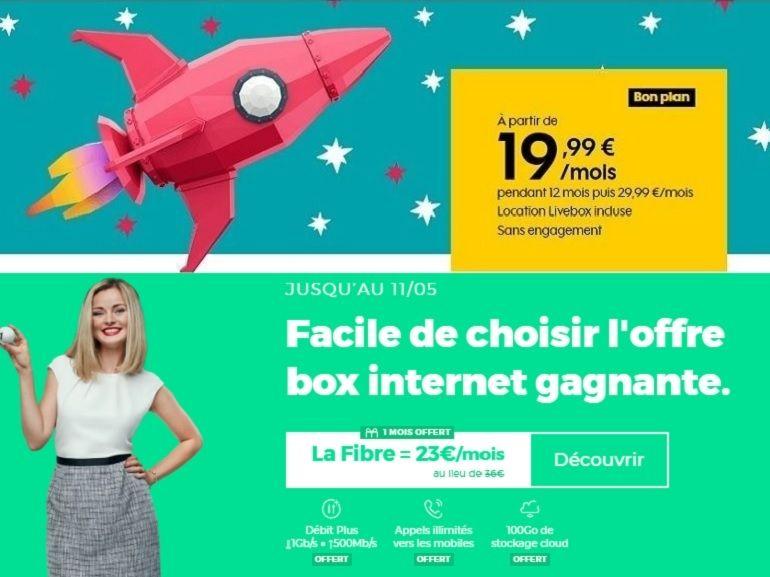 Fibre RED vs fibre Sosh : quel est le meilleur forfait internet sans engagement de la semaine ?