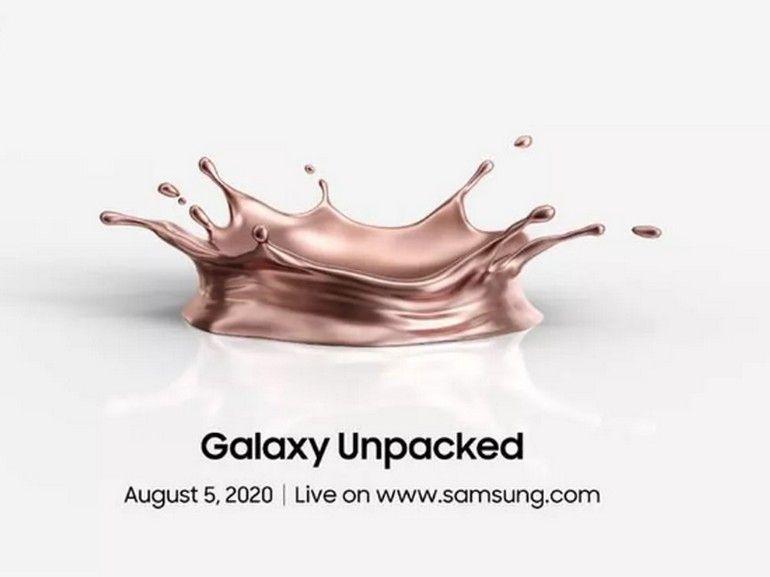 Samsung Unpacked : comment suivre en direct la présentation des Galaxy Note 20 et des autres produits