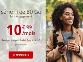 French Days 2020 : la série Free Mobile inclut désormais 80 Go pour 10.99 euros