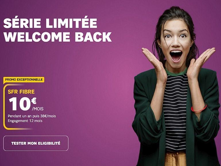 Box fibre à 10 euros : SFR bouscule la concurrence avec sa série limitée