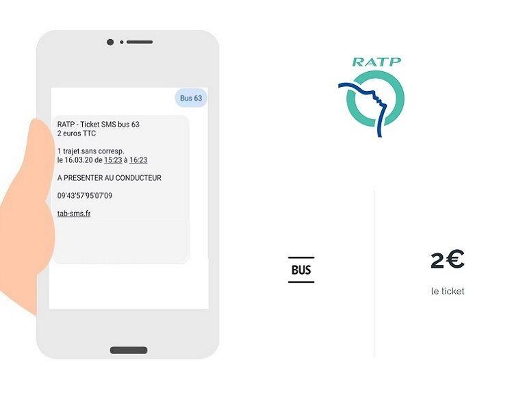 Déconfinement : la RATP permet d'acheter des tickets de bus par SMS