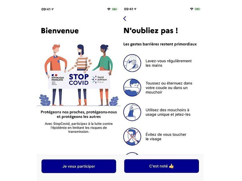 StopCovid : la CNIL donne officiellement son feu vert, découvrez les premières images de l'application