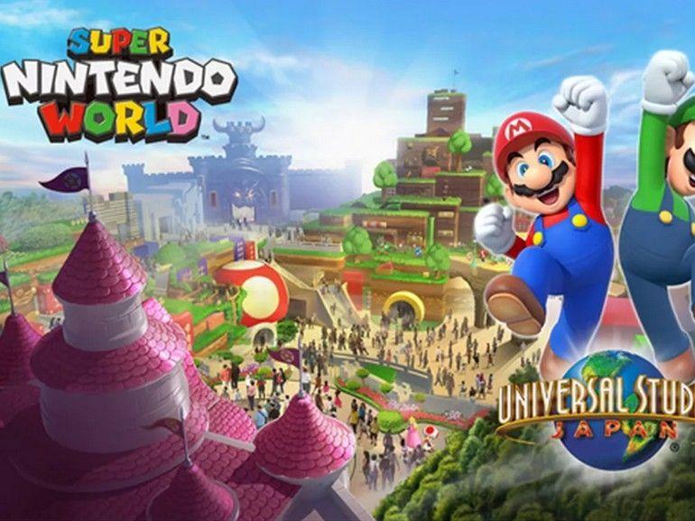 Super Nintendo World : premières images volées du parc d'attraction des Studios Universal