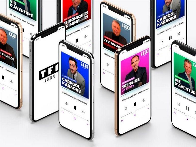 TF1 annonce une nouvelle offre de podcasts avec des thématiques variées