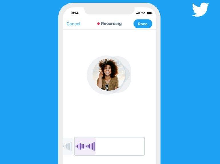 Twitter introduit le tweet vocal de 140 secondes sur iOS