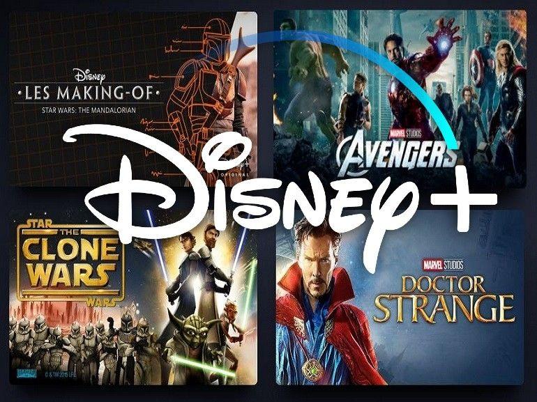 Star Wars et Marvel : la liste des séries prévues sur Disney+