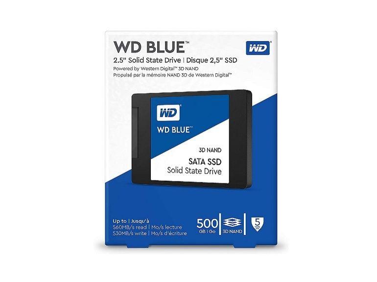 Bon plan : Amazon propose le SSD Western Digital 500 Go (3D NAND) à 58€ au lieu de 69,99