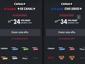 Canal+ : dernier jour pour le pack