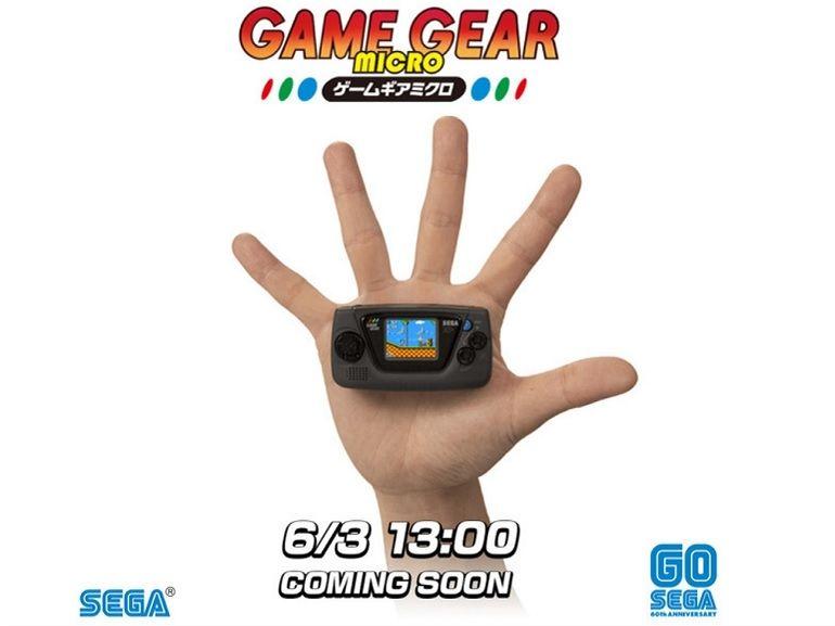 Sega Game Gear Micro : une mini console pour célébrer son 30e anniversaire