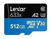 Bon plan : la carte microSDCX Lexar Professional 512 Go est à 68,99€ au lieu de 91,51 sur Amazon