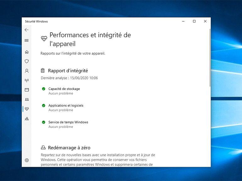 """Windows 10 2004 : le """"redémarrage à zéro"""" officiellement supprimé"""