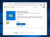 Windows File Recovery : un nouvel outil pour aider à récupérer des fichiers supprimés