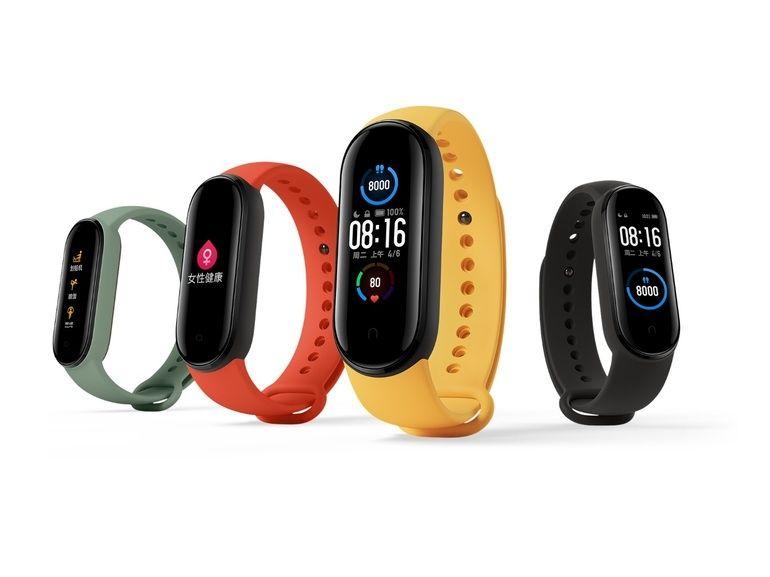 Mi Band 5 officiel : le petit bracelet connecté de Xiaomi fait le plein de nouveautés