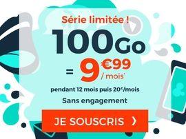 Forfait mobile : 100 Go pour moins de 10 euros chez Cdiscount Mobile