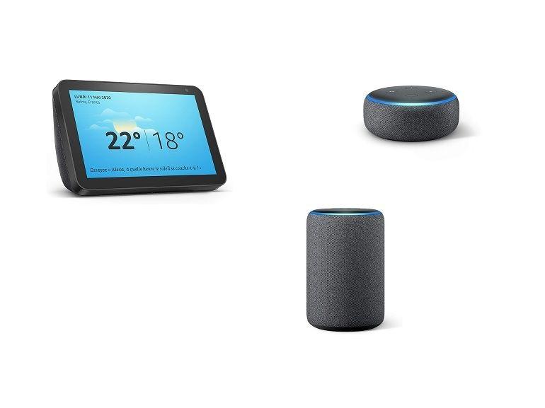 Bon plan : jusqu'à 58% de remise sur les enceintes connectées Amazon Echo