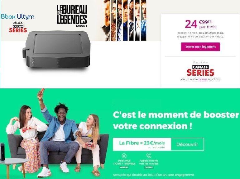 Box et forfait Internet fibre : le match des meilleures offres du moment