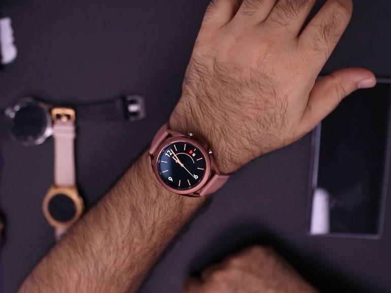 Galaxy Watch 3 : la montre connectée de Samsung se dévoile dans une prise en main vidéo