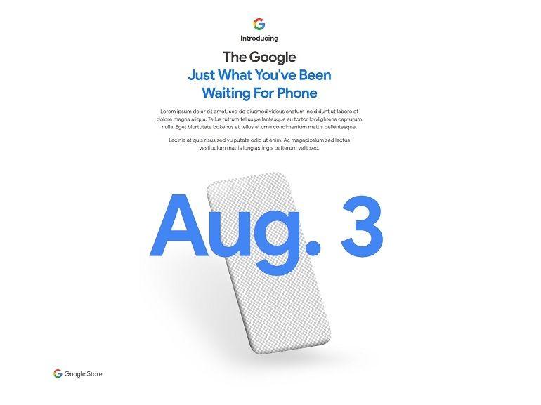 Google Pixel 4a : c'est officiel, la présentation aura lieu le 3 août