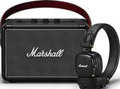 Bon plan Soldes : l'enceinte Marshall Kilburn II + le casque Major III BT à seulement 199€