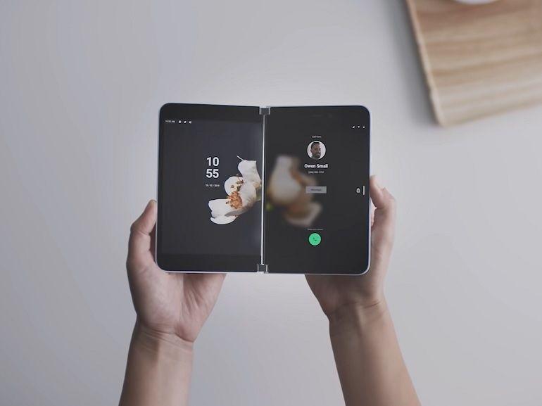 Microsoft Surface Duo : le smartphone avec deux écrans certifié par la FCC, lancement imminent ?