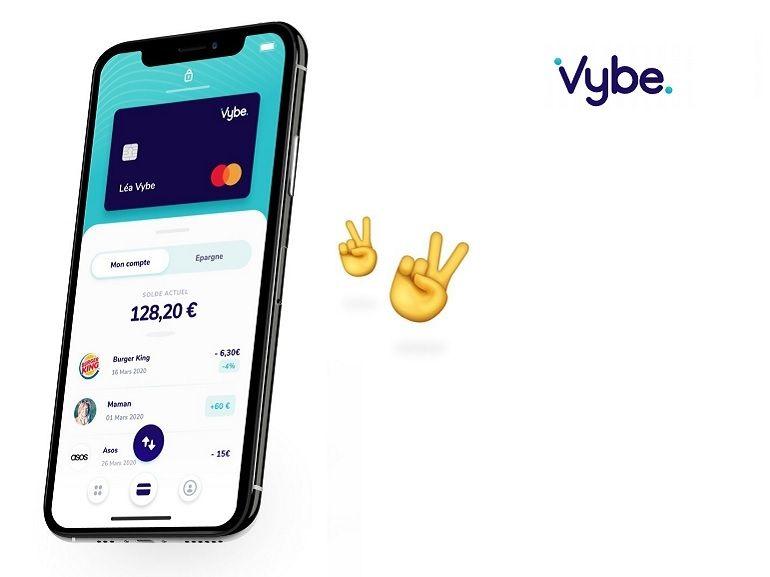 La néobanque Vybe part à la conquête de la jeunesse