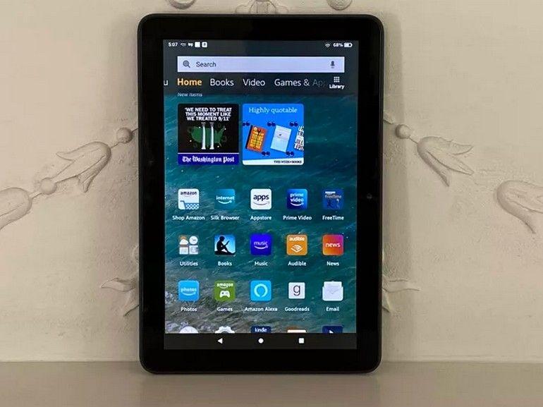 Test de l'Amazon Fire HD 8 (2020) : une référence sur le marché des tablettes accessibles